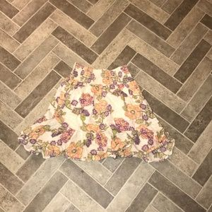 SUSINA Multi-Color Mini Skirt S